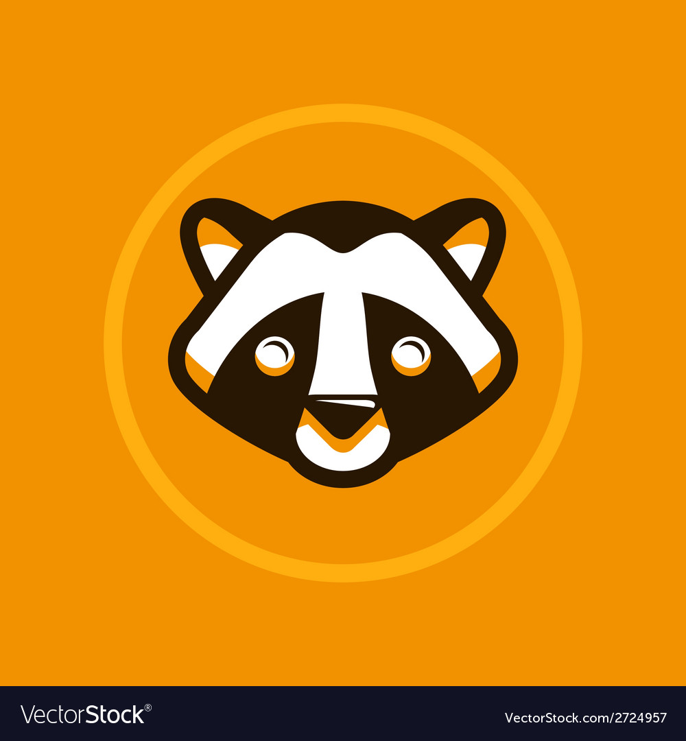 Raccoon vector | Price: 1 Credit (USD $1)