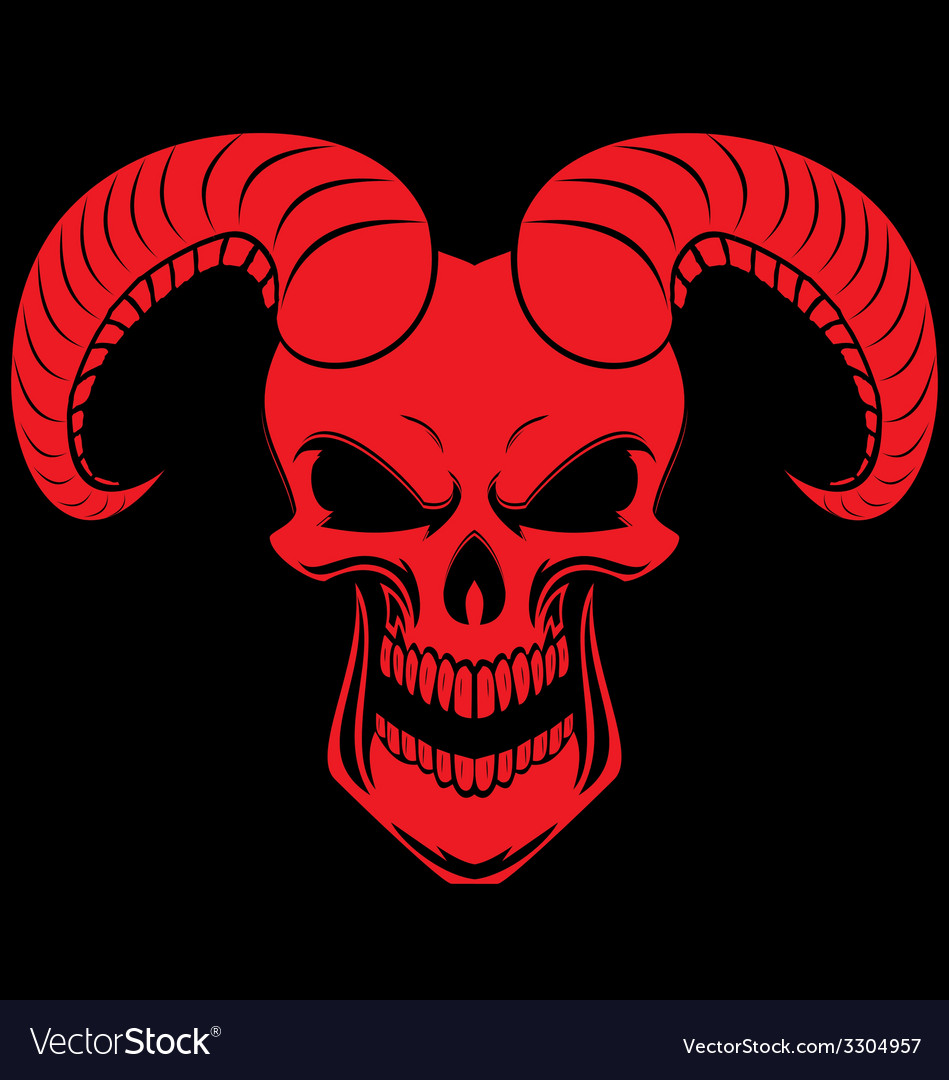 Red demons vector | Price: 1 Credit (USD $1)