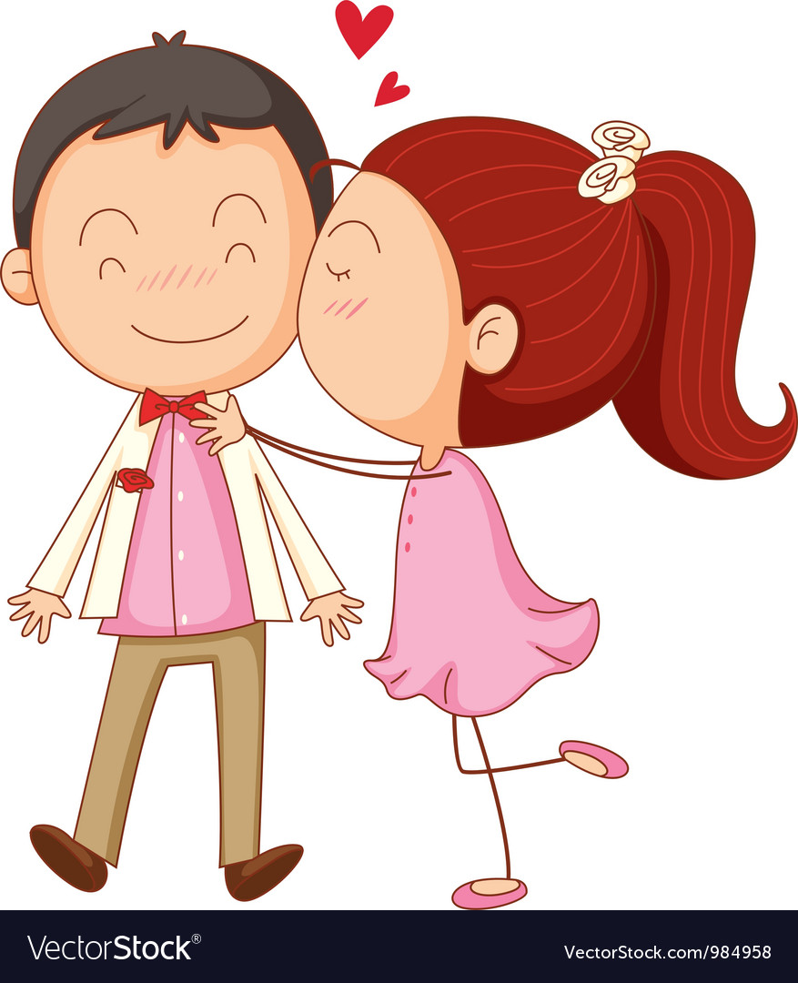 Couple in love vector | Price: 3 Credit (USD $3)