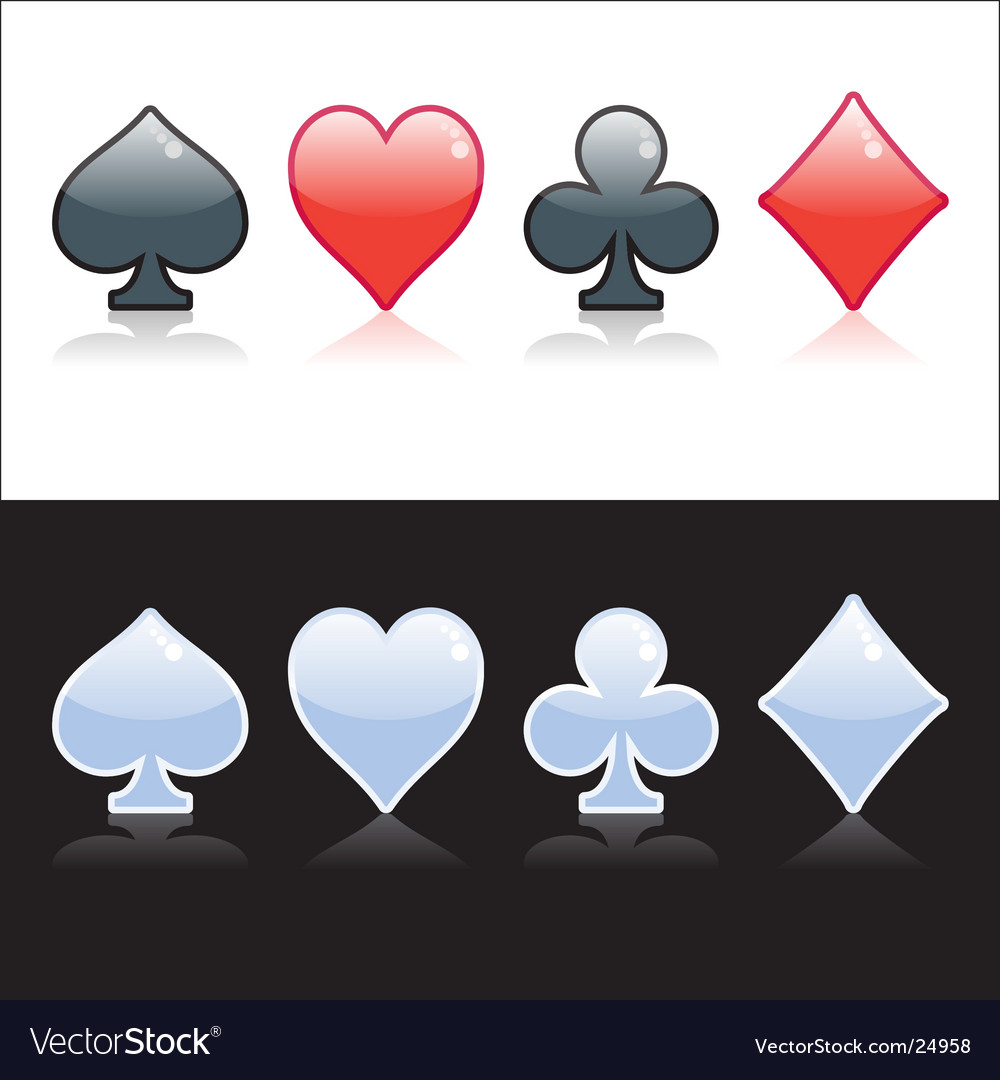 Poker symbol vector | Price: 1 Credit (USD $1)