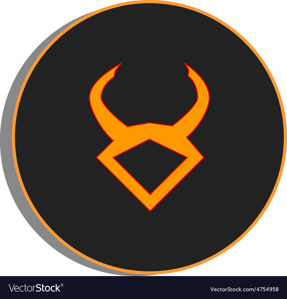 Taurus zodiac vector | Price: 1 Credit (USD $1)