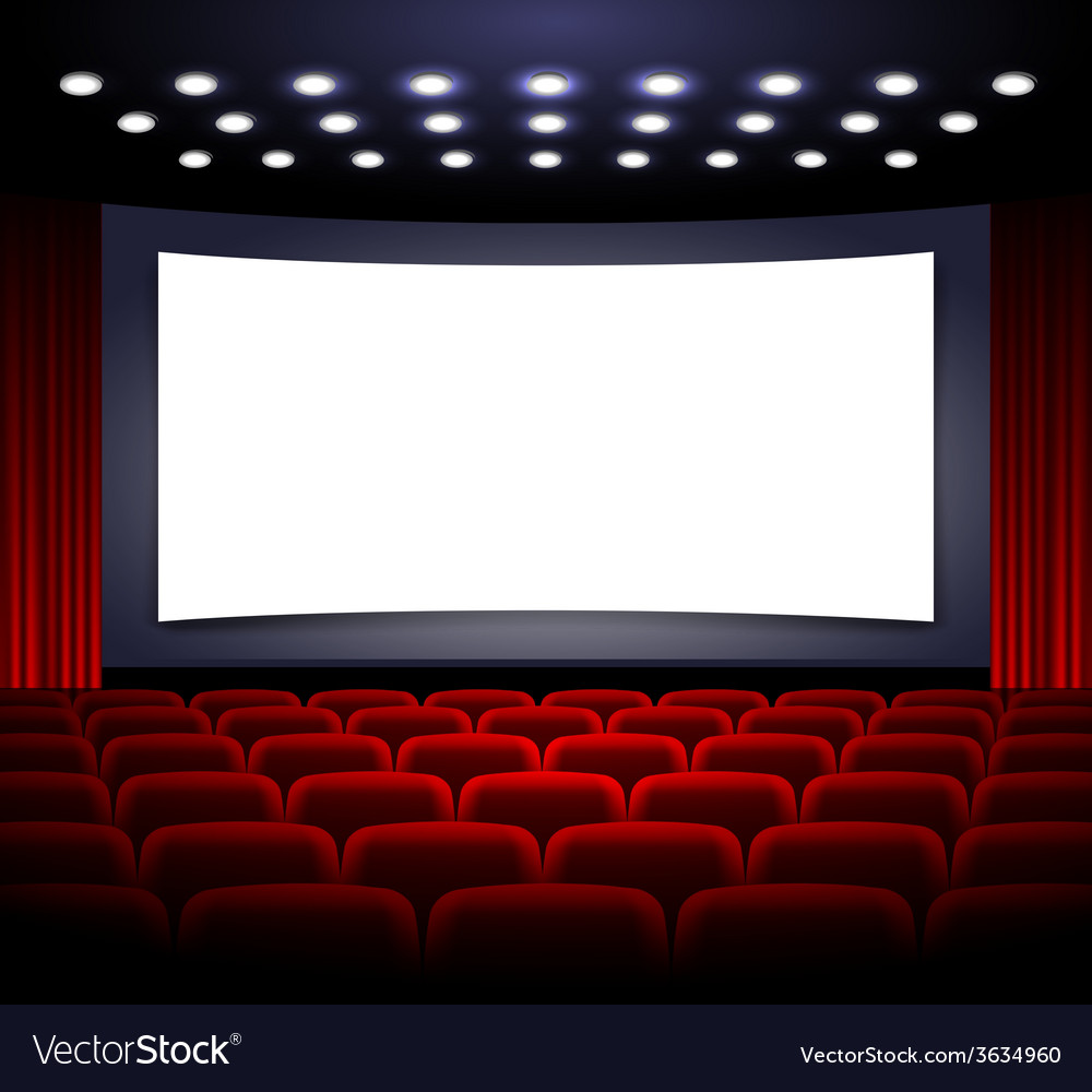 Movie theatre design vector | Price: 1 Credit (USD $1)