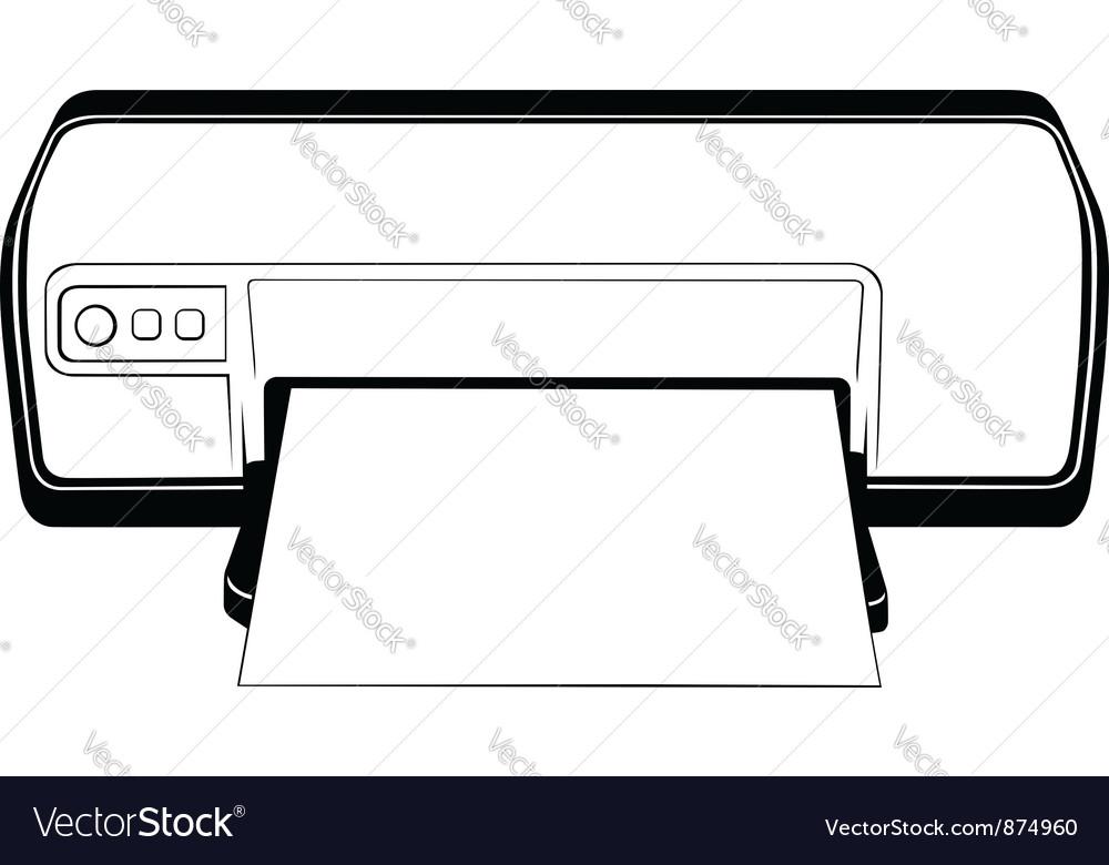Printer vector   Price: 1 Credit (USD $1)