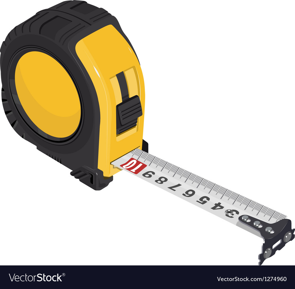 Single tape measure vector | Price: 1 Credit (USD $1)