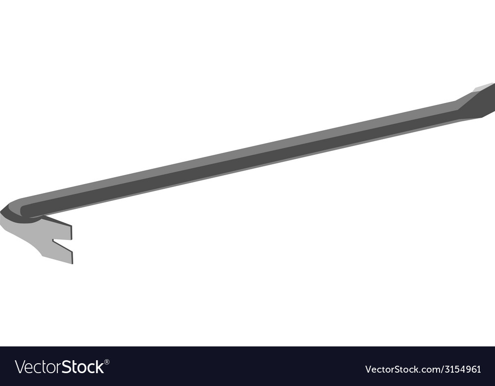 Crowbar vector | Price: 1 Credit (USD $1)