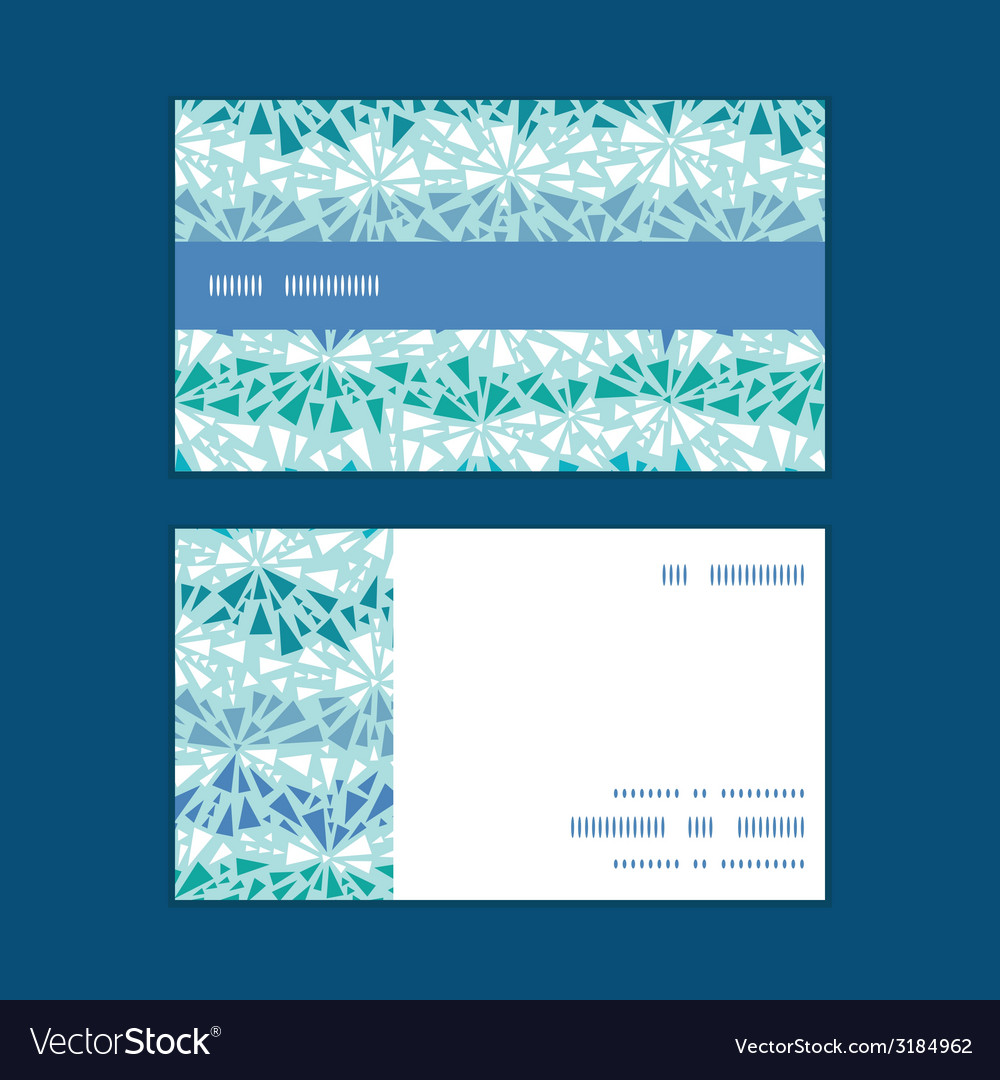 Abstract ice chrystals texture horizontal stripe vector | Price: 1 Credit (USD $1)