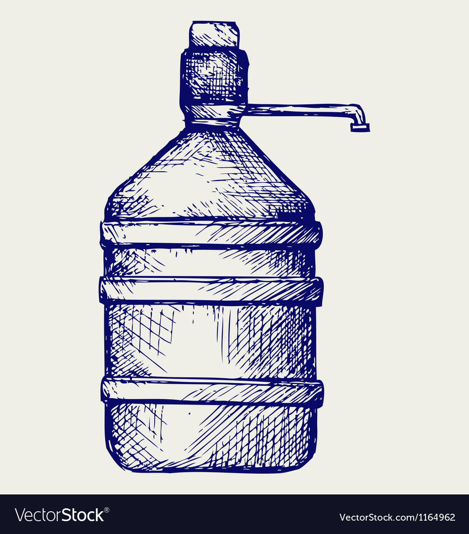 Bottle water vector | Price: 1 Credit (USD $1)