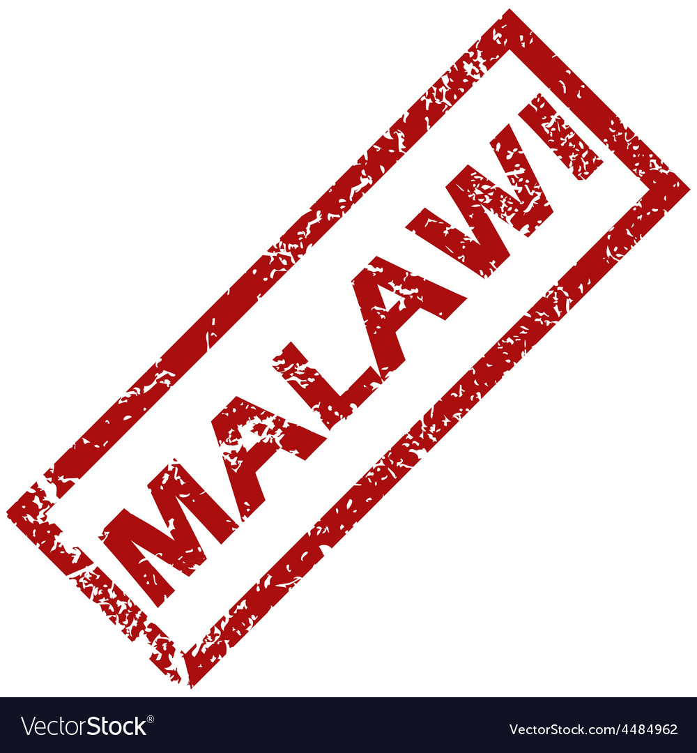 New malawi rubber stamp vector | Price: 1 Credit (USD $1)