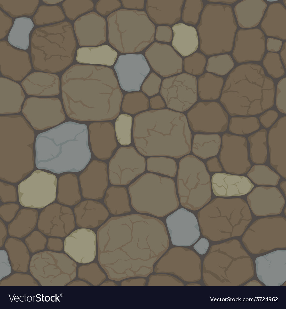 Seamless pattern with cracked stone vector   Price: 1 Credit (USD $1)