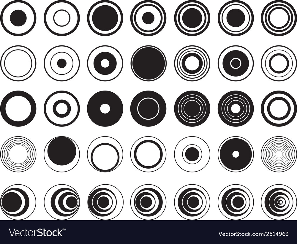 Design circles vector | Price: 1 Credit (USD $1)