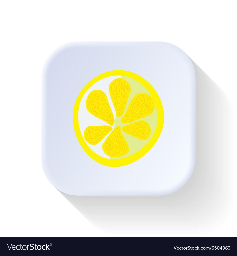 Lemon fruit vector | Price: 1 Credit (USD $1)