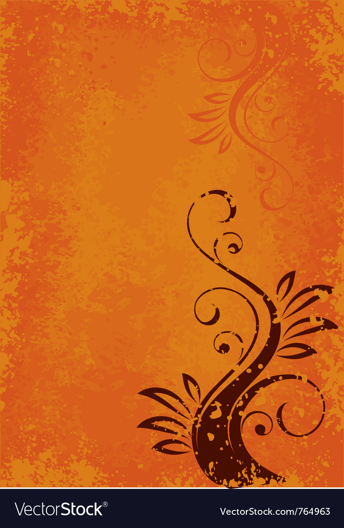 Orange abstract layout vector | Price: 1 Credit (USD $1)