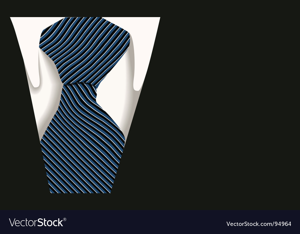 Collar tie shirt business vector | Price: 1 Credit (USD $1)