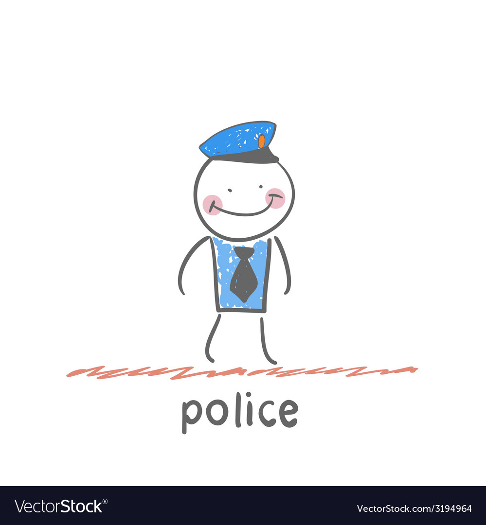 Police vector | Price: 1 Credit (USD $1)