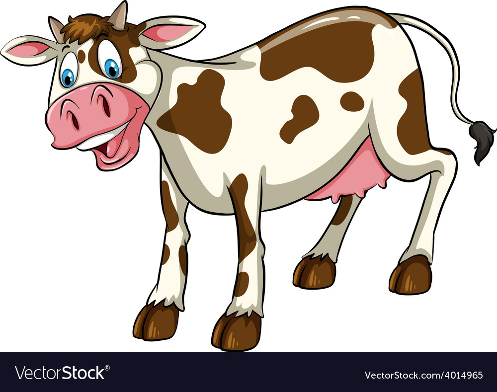 A cow vector | Price: 3 Credit (USD $3)
