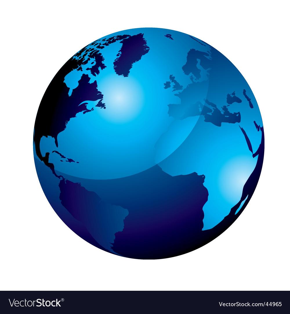 Gel globe vector | Price: 1 Credit (USD $1)