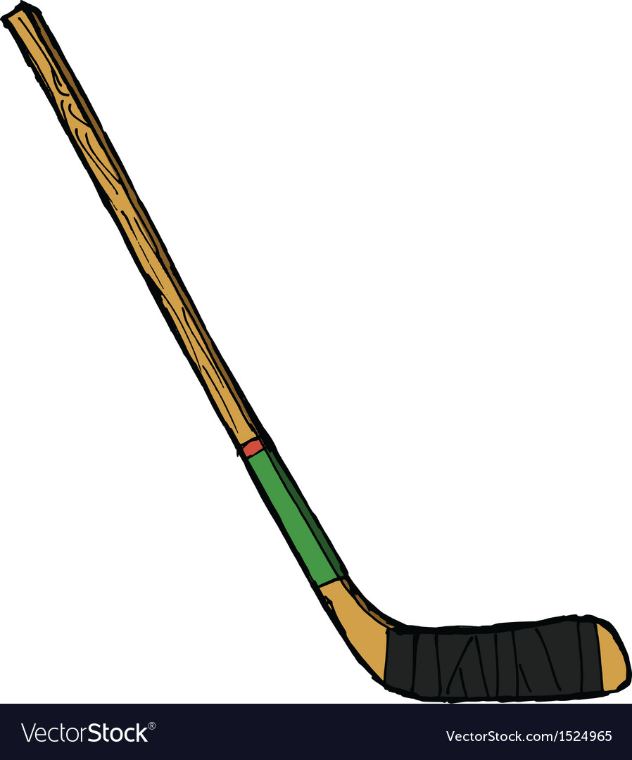 Hockey stick vector | Price: 1 Credit (USD $1)