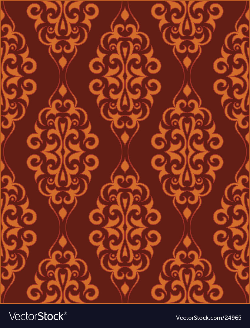 Ornamental wallpaper vector | Price: 1 Credit (USD $1)