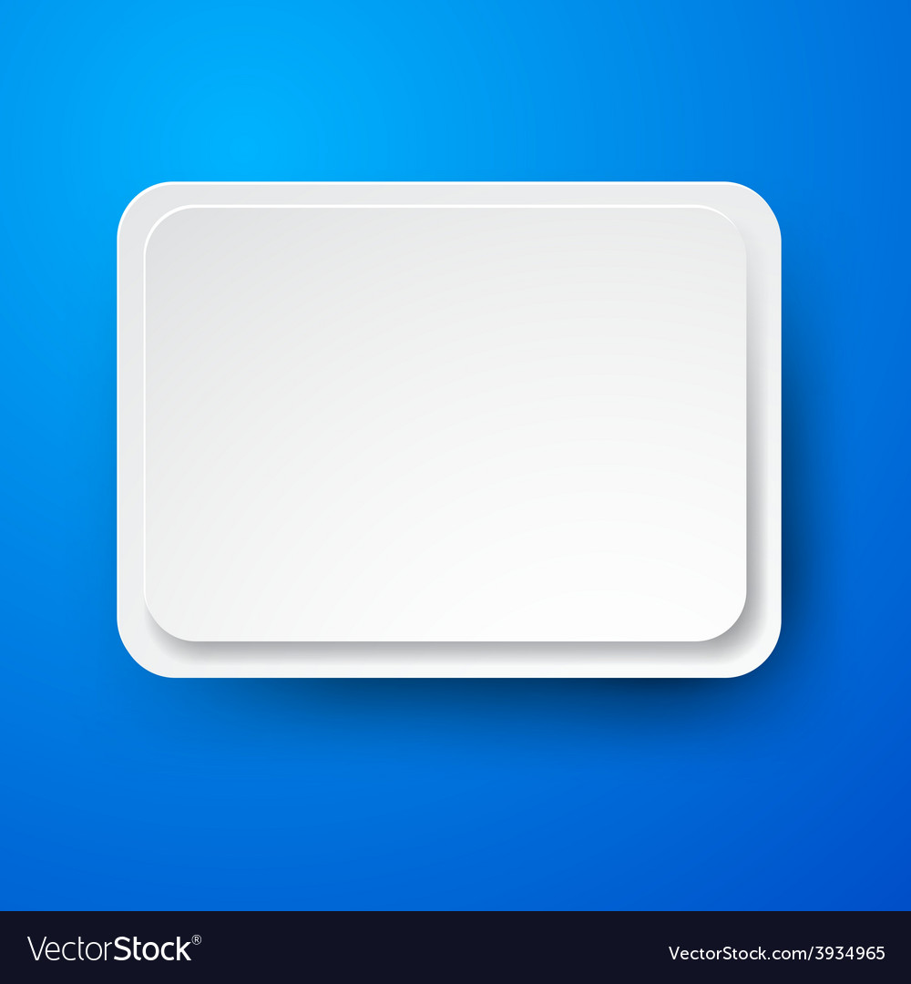 Paper white rectangular note on blue vector | Price: 1 Credit (USD $1)