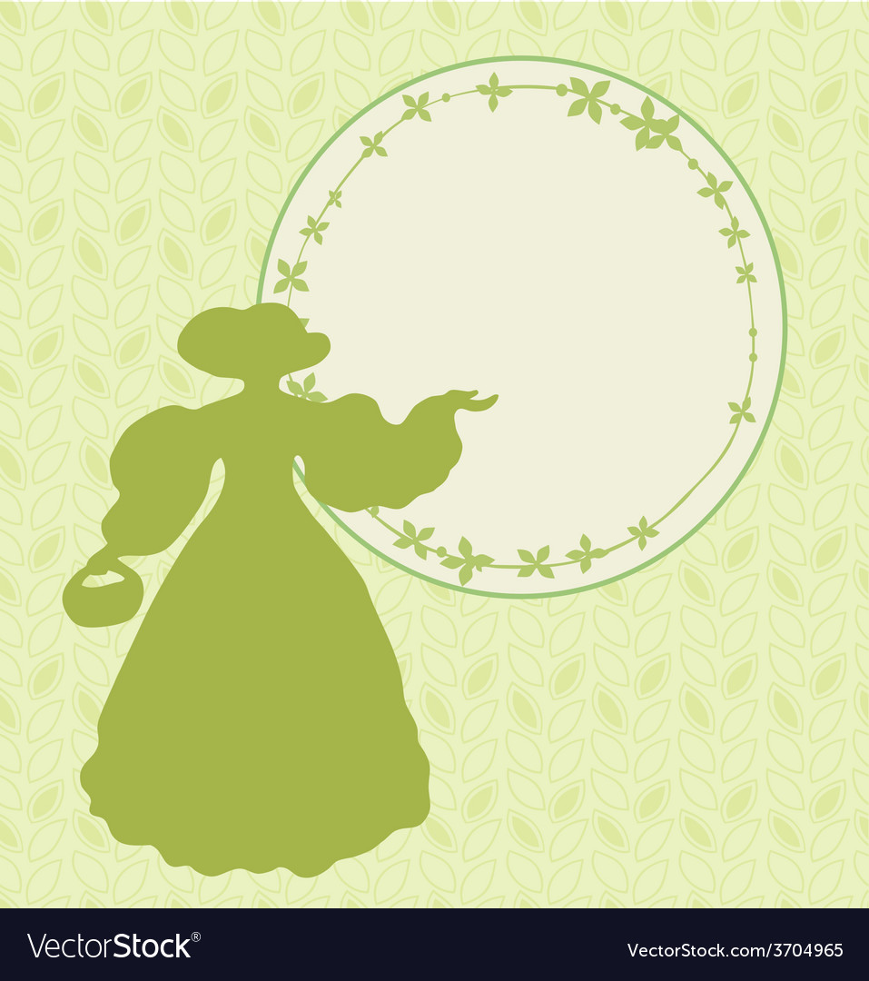 Retro woman design vector | Price: 1 Credit (USD $1)