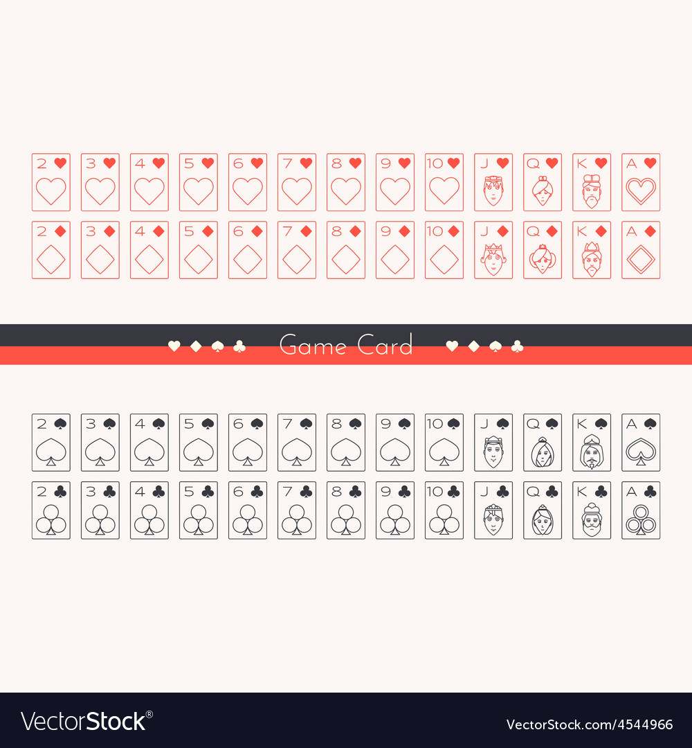 Game card vector | Price: 1 Credit (USD $1)