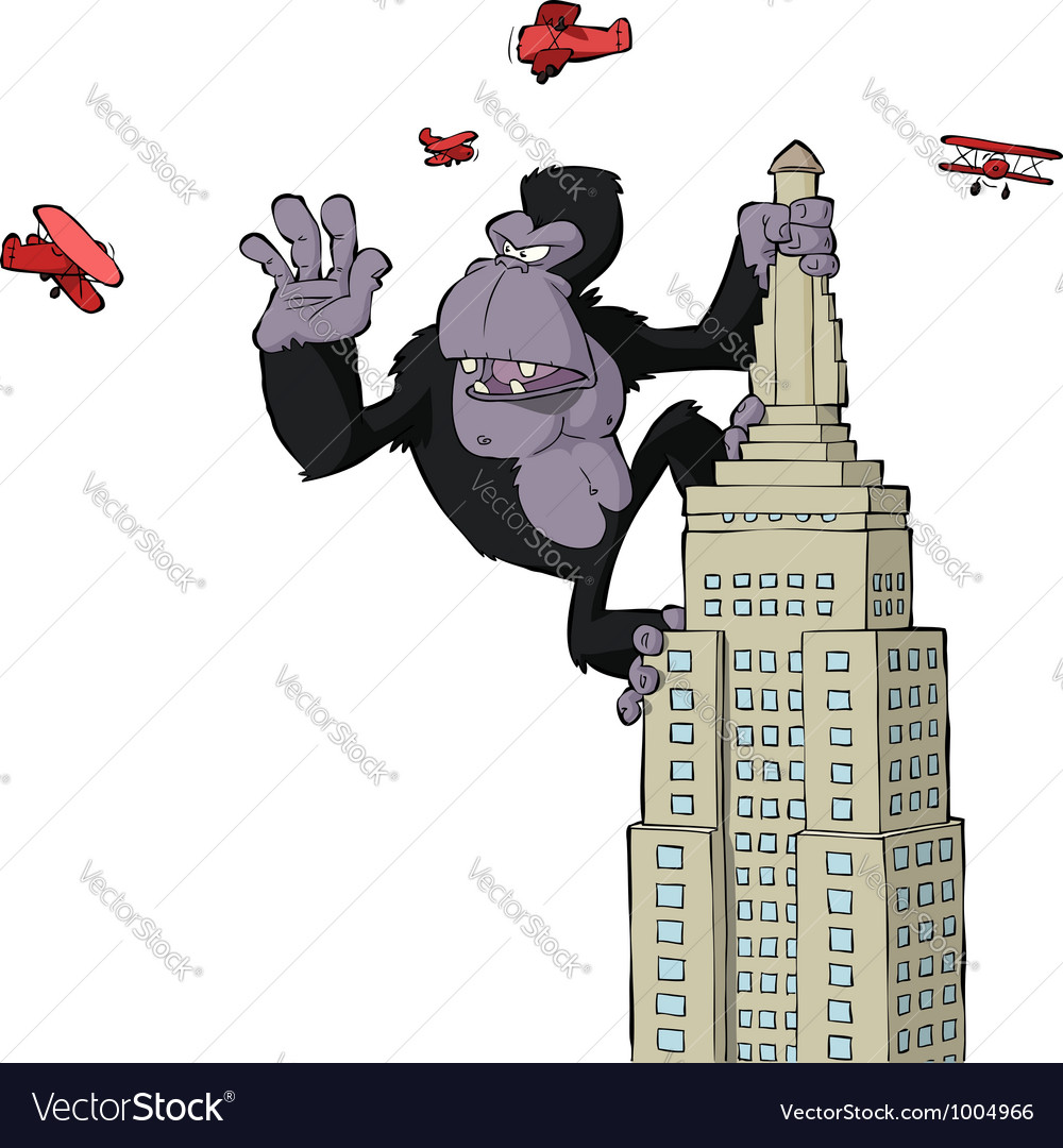 King kong vector | Price: 1 Credit (USD $1)