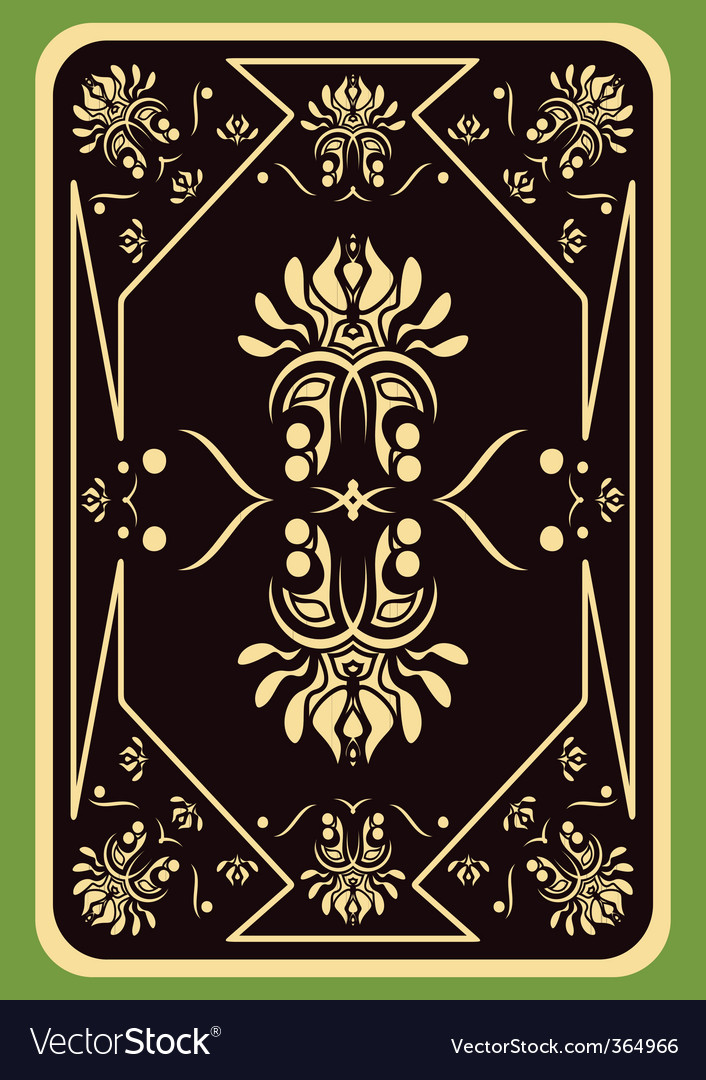 Playing card vector | Price: 1 Credit (USD $1)