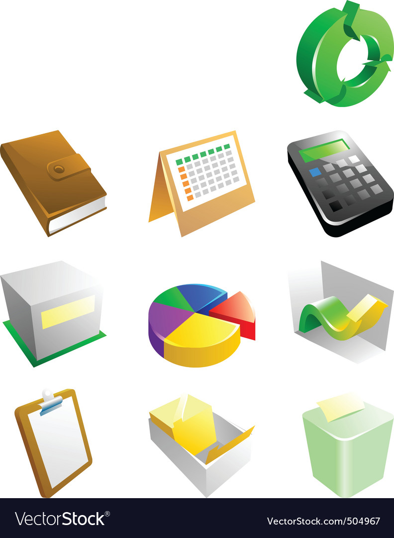 Business icon vector | Price: 3 Credit (USD $3)