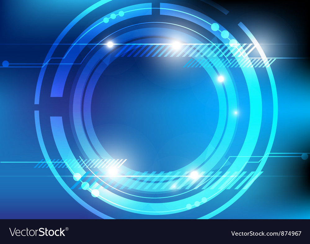Circle abstract background vector | Price: 1 Credit (USD $1)