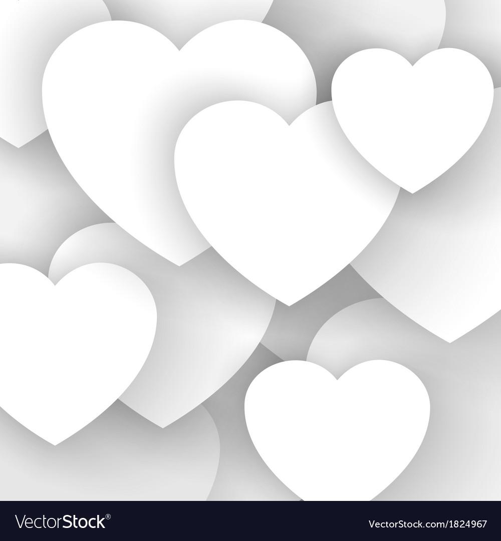 Heart applique background vector | Price: 1 Credit (USD $1)
