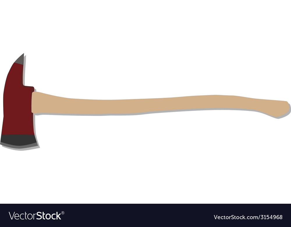 Fire axe vector | Price: 1 Credit (USD $1)