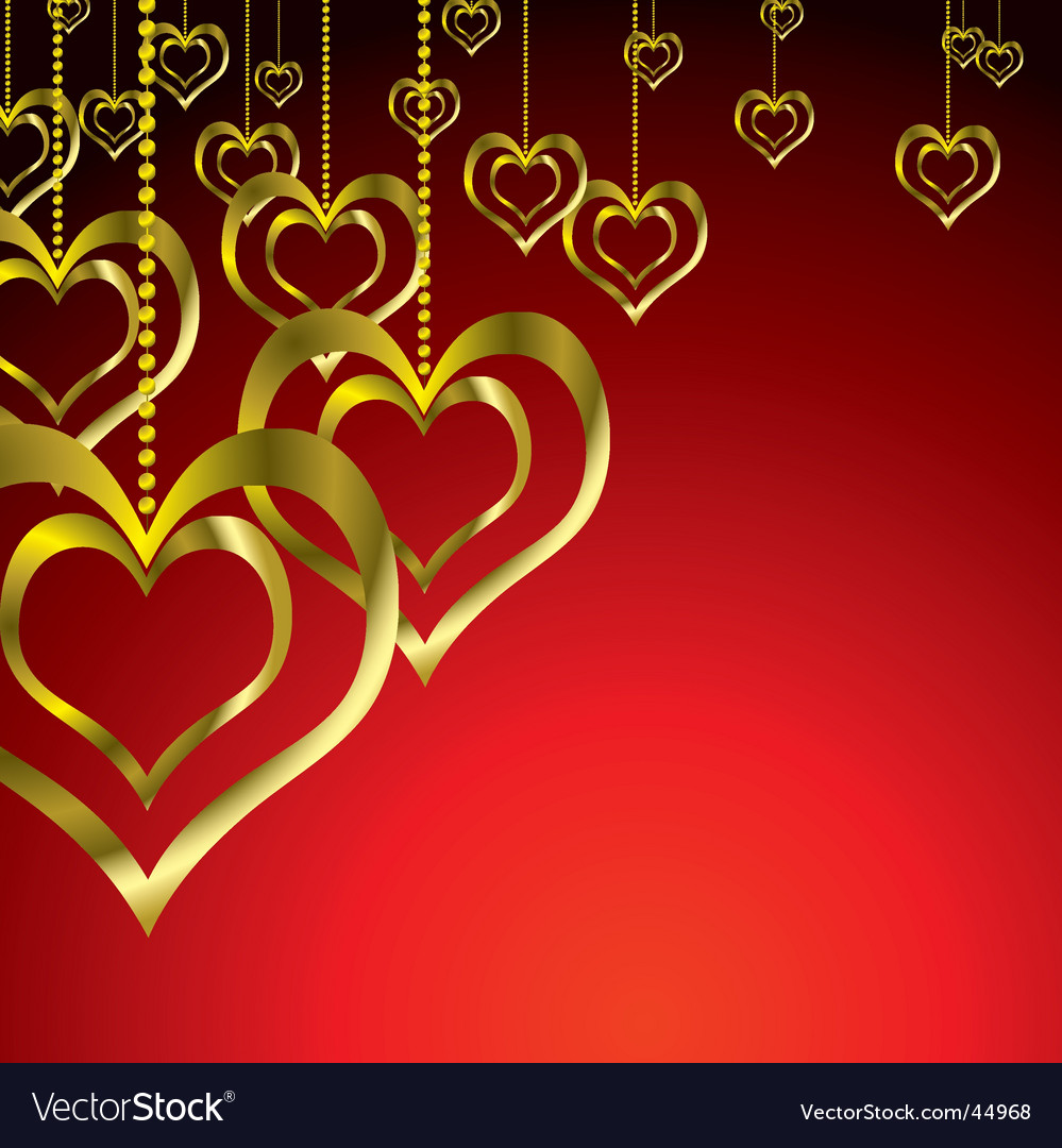 Valentine hearts vector | Price: 1 Credit (USD $1)