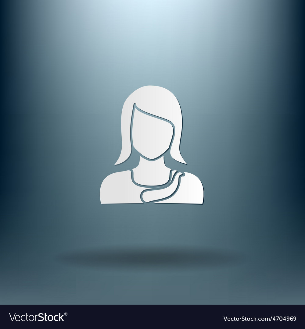 A female avatar avatar of a woman vector | Price: 1 Credit (USD $1)
