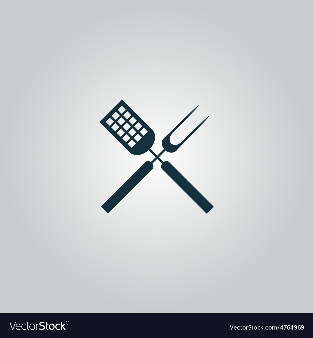 Barbecue utensils vector | Price: 1 Credit (USD $1)