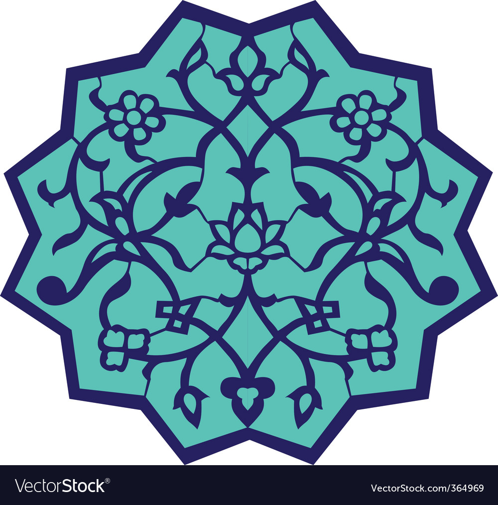 Ottoman motif vector | Price: 1 Credit (USD $1)