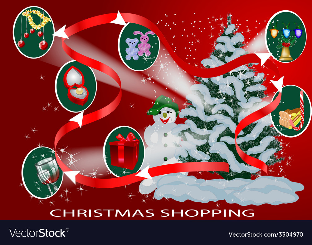 Christmas infographic vector | Price: 1 Credit (USD $1)