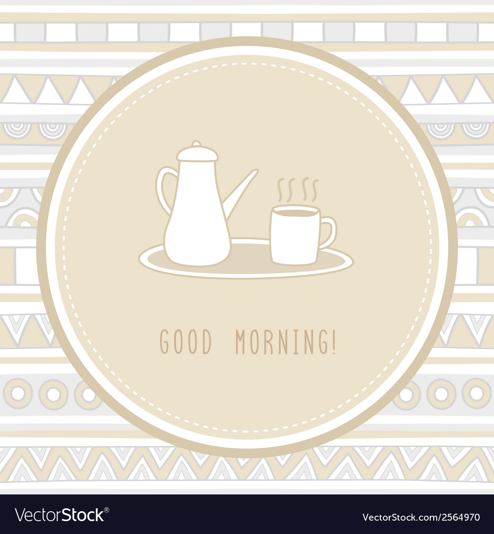 Good morning1 vector | Price: 1 Credit (USD $1)