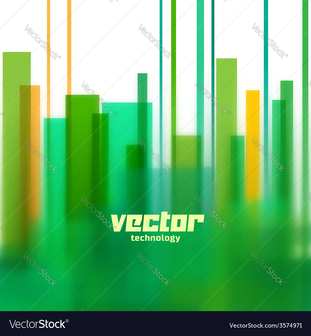 Background with green blurred lines vector   Price: 1 Credit (USD $1)