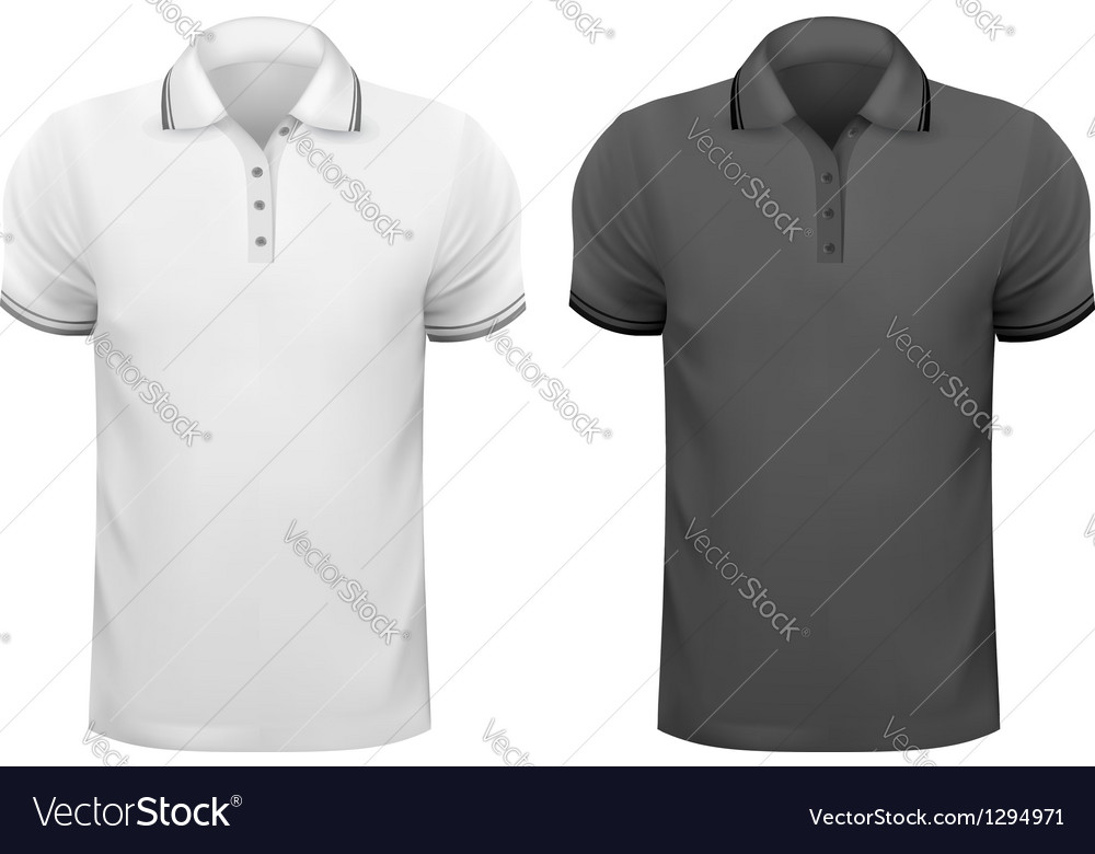 Black and white men t- shirts design template vector | Price: 1 Credit (USD $1)