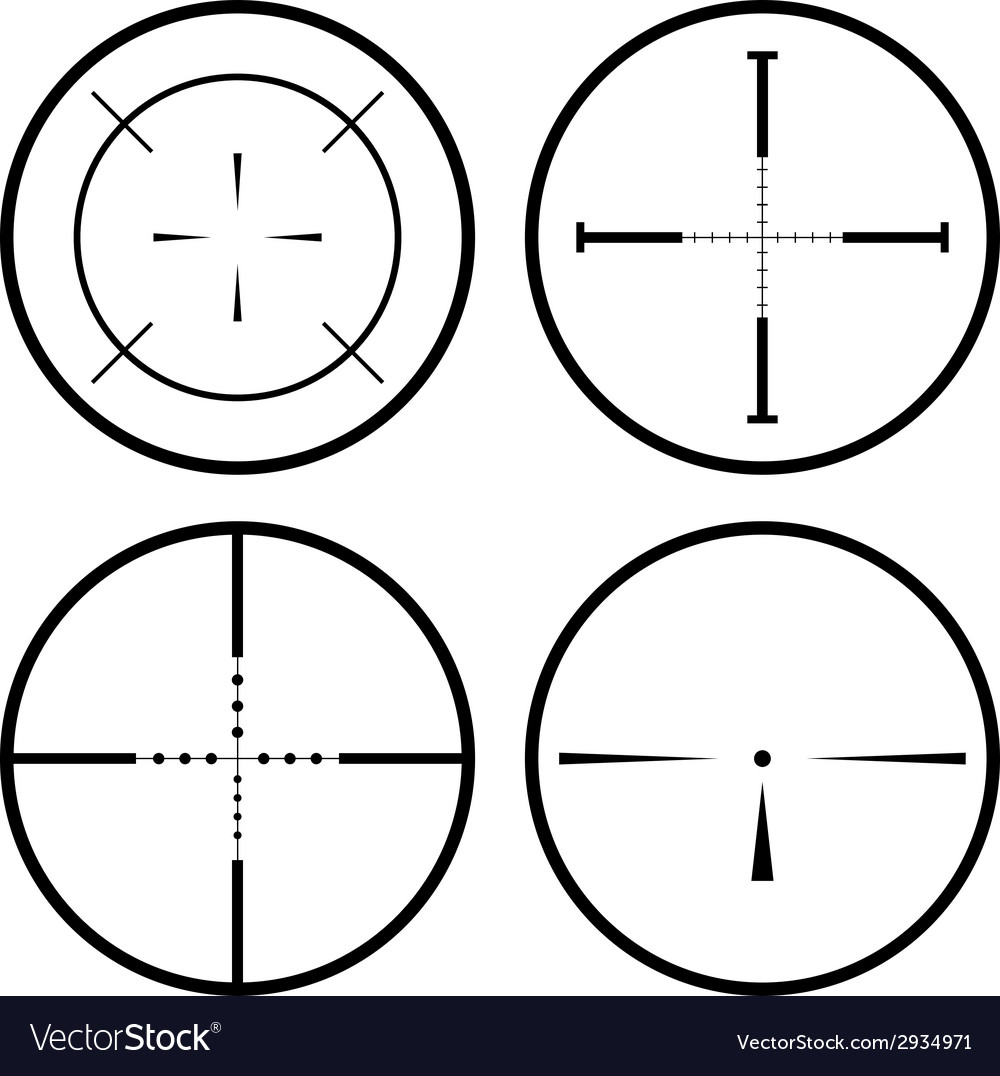 Sniper scope vector