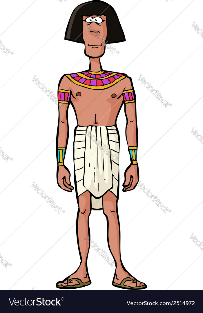 Ancient egyptian citizen vector | Price: 1 Credit (USD $1)