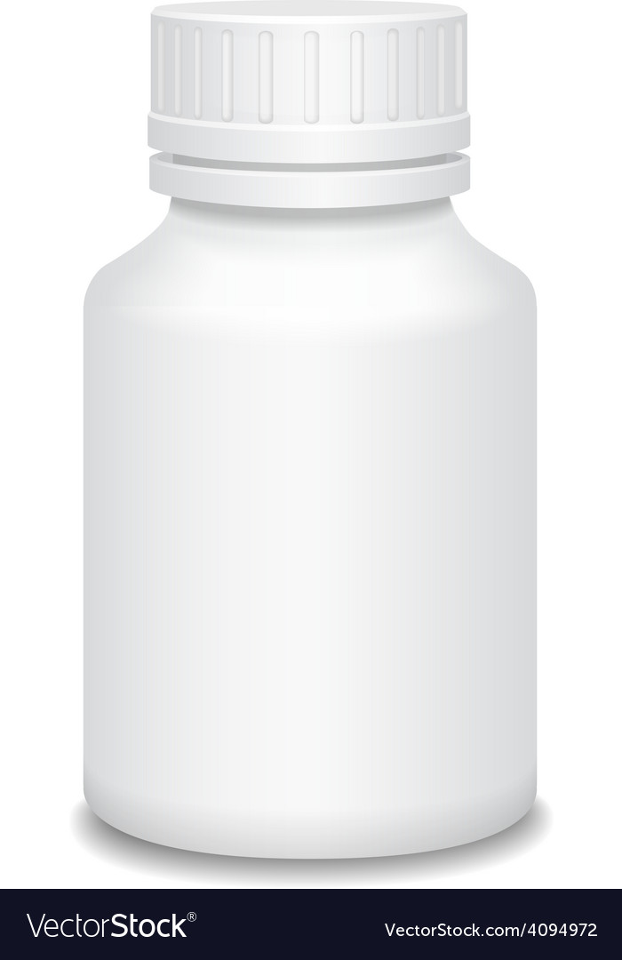 Blank medicine bottle vector | Price: 1 Credit (USD $1)