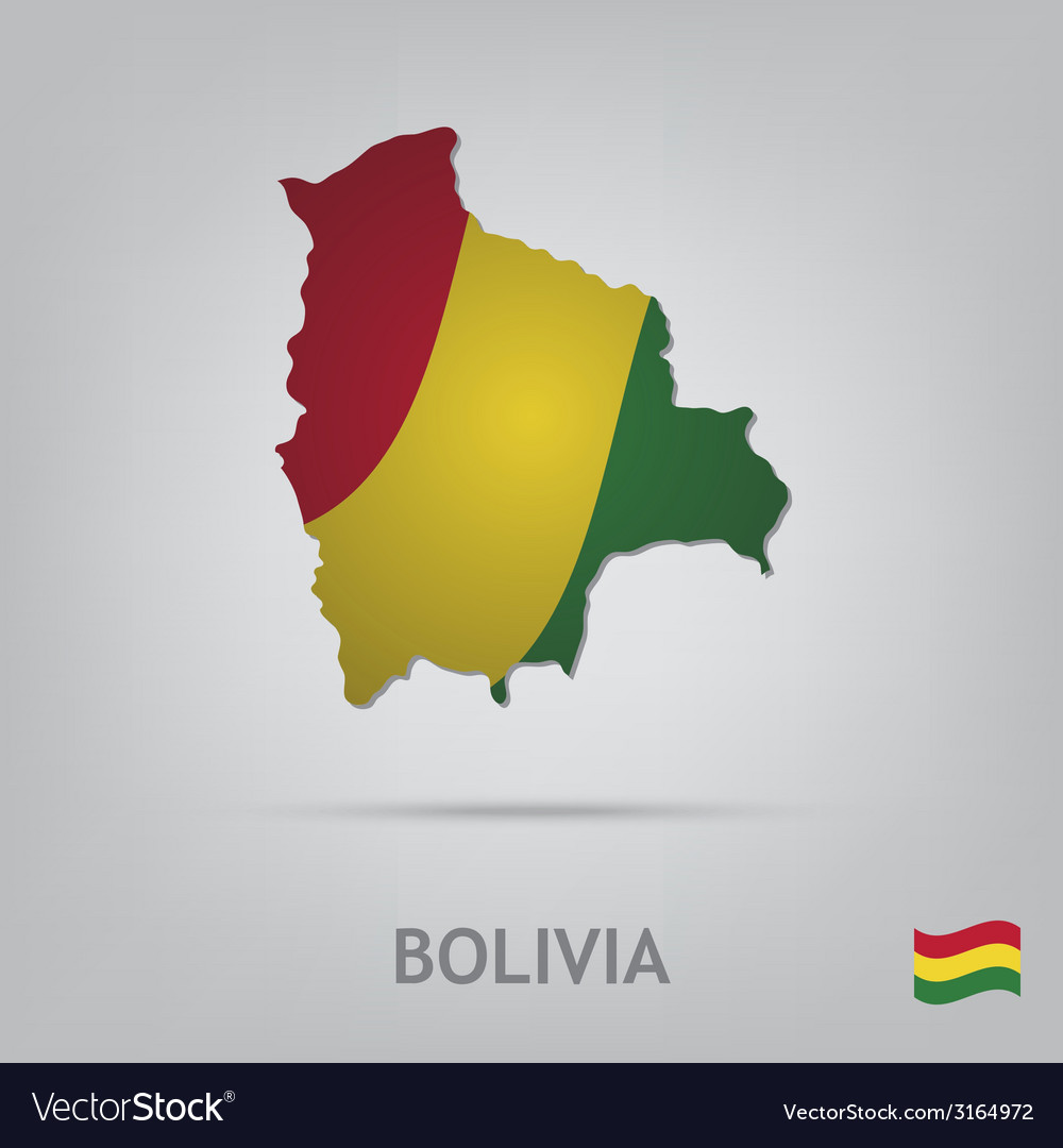 Bolivia vector | Price: 1 Credit (USD $1)