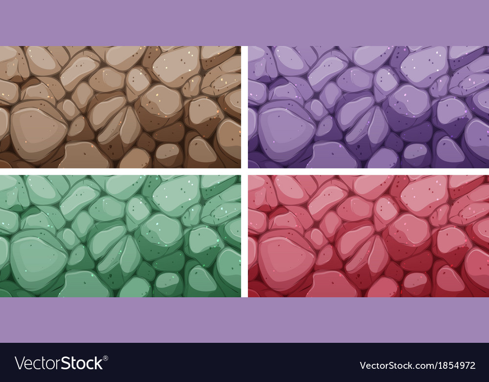 Colorful brick textures vector | Price: 1 Credit (USD $1)