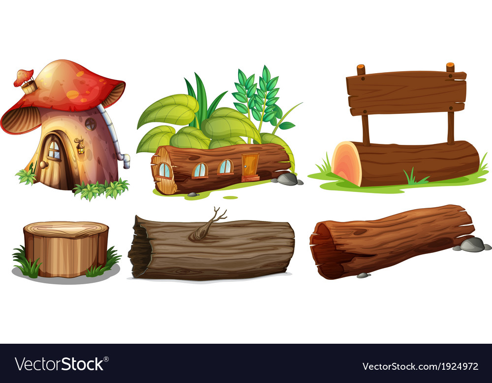 Different uses of woods vector | Price: 3 Credit (USD $3)