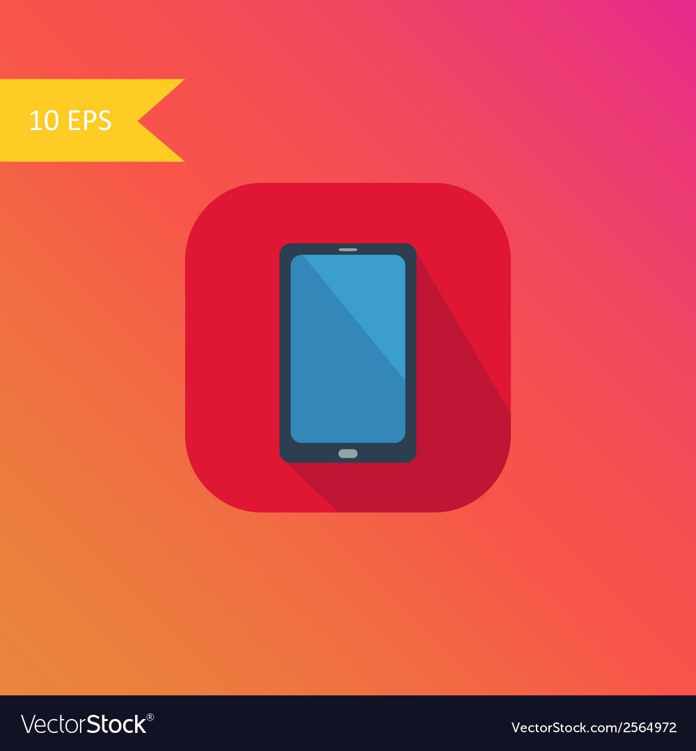 Flat design smart phone icon element vector   Price: 1 Credit (USD $1)