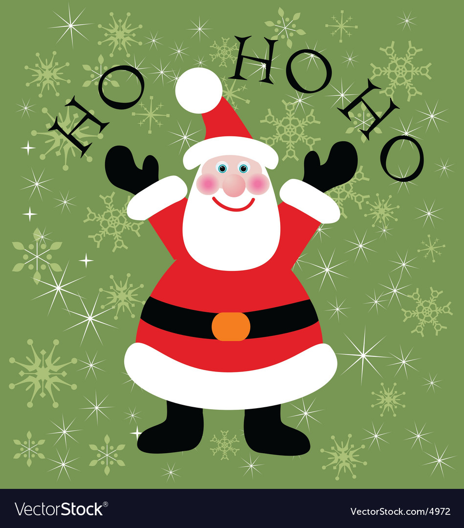 Santa claus icon vector | Price: 1 Credit (USD $1)