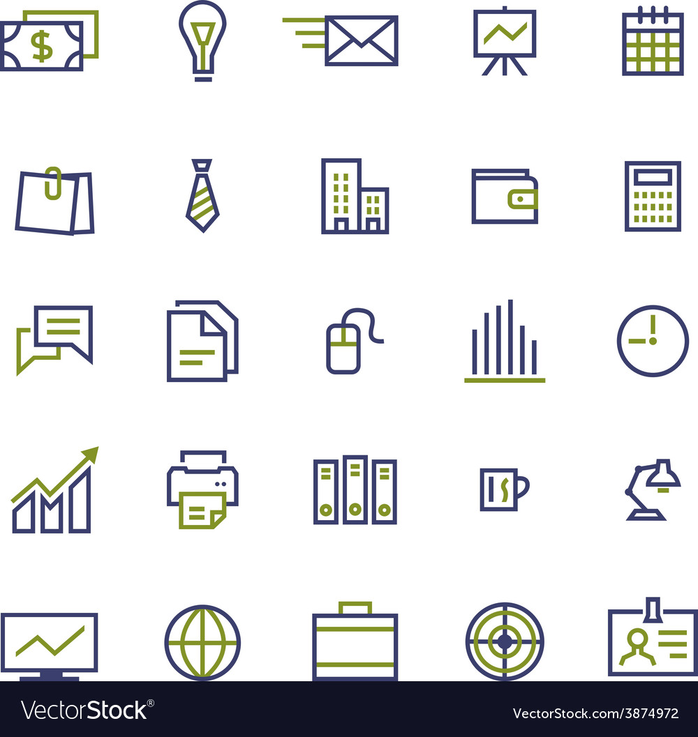 Set of business icons for internet marketing and vector | Price: 1 Credit (USD $1)