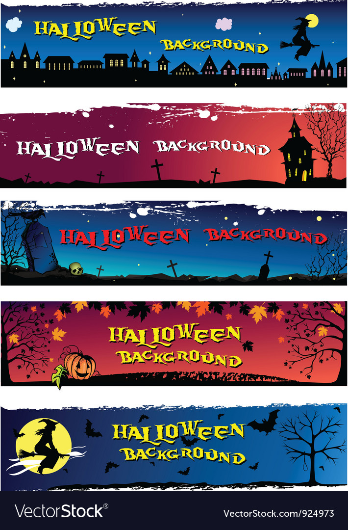 Halloween backgrounds vector | Price: 1 Credit (USD $1)
