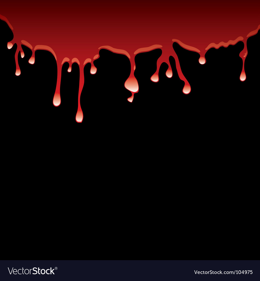Black blood vector | Price: 1 Credit (USD $1)